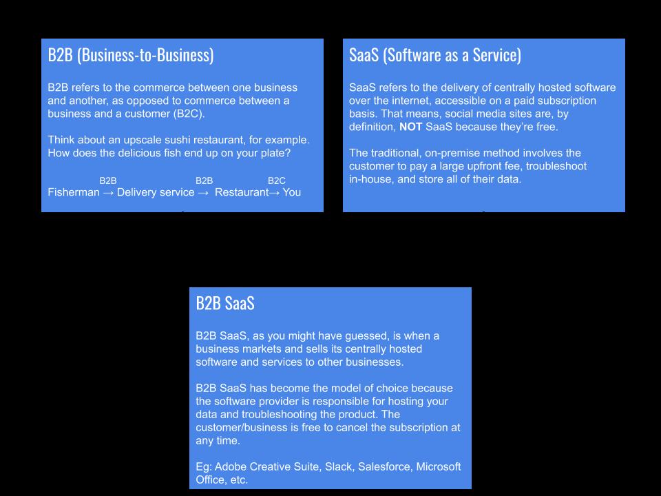 B2B SaaS startups