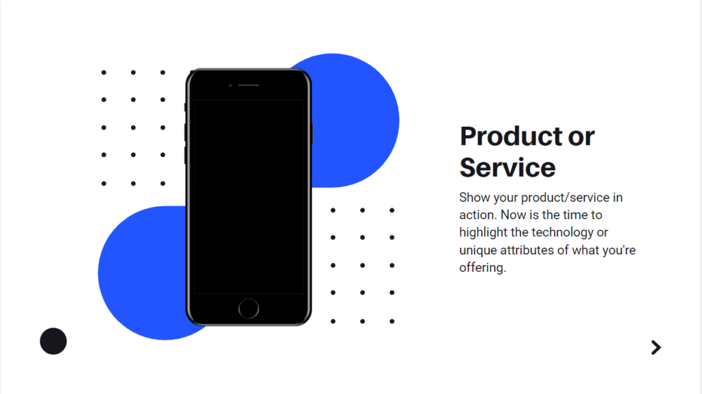 show your product or services in action